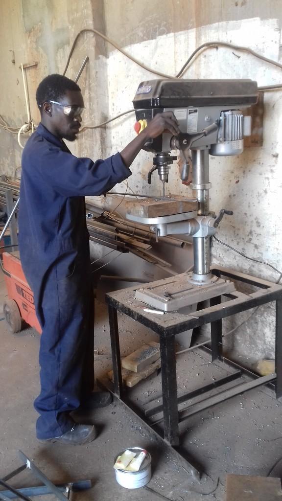 workerstandbohrmachine
