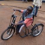 Ein Tricycle für ein Kind